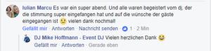 Bewertung DJ Mike Hoffmann